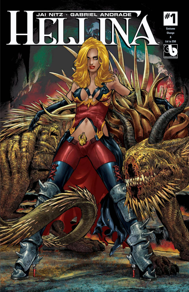 Hellina #1 (Costume Change Cover Set)