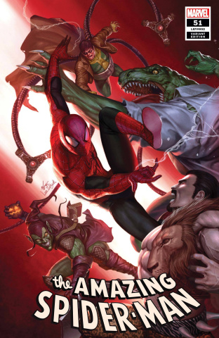The Amazing Spider-Man #51 (Inhyuk Lee Cover)