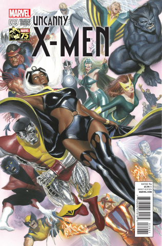 Uncanny X-Men #29 (Ross 75th Anniversary Cover)