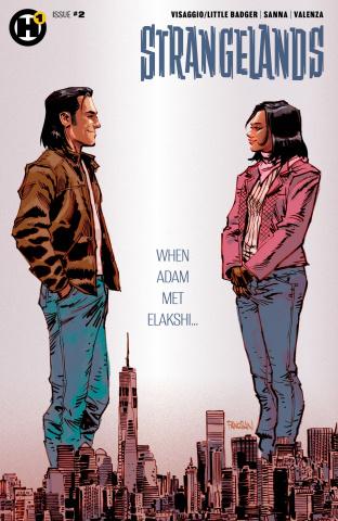 Strangelands #2 (Panosian Cover)