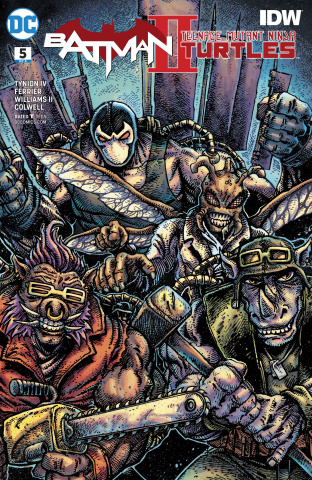 Batman / Teenage Mutant Ninja Turtles II #5 (Variant Cover)