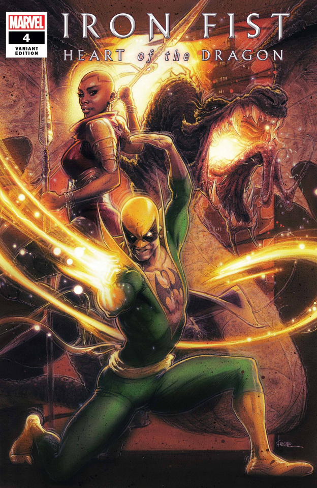 Iron Fist: Heart of the Dragon #4 (Andrews Cover)