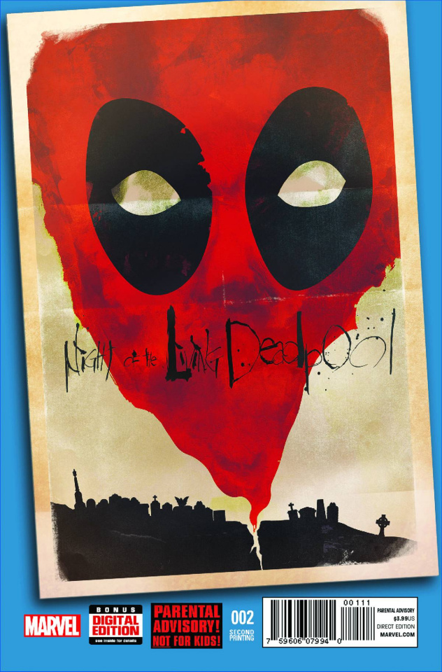 Night of the Living Deadpool #2 (2nd Printing)