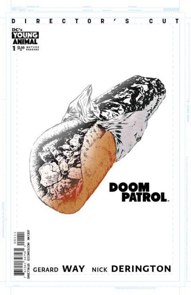 Doom Patrol #1 (Director's Cut)