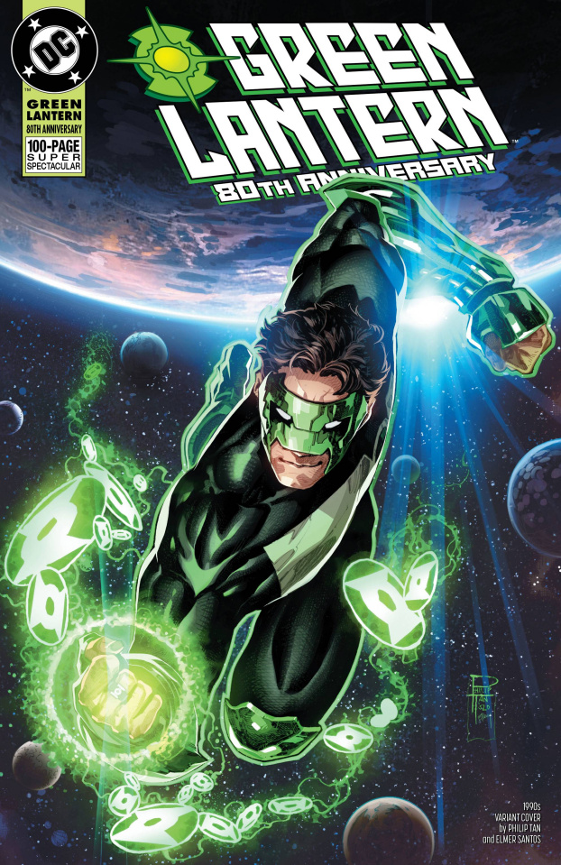 Green Lantern 80th Anniversary 100 Page Super Spectacular #1 (1990s Cover)