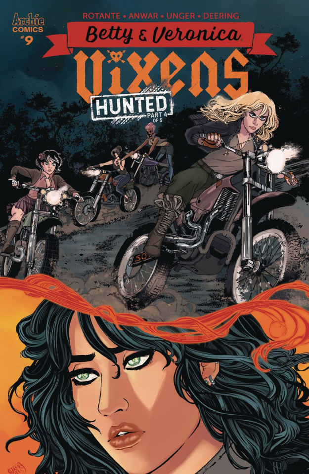 Betty & Veronica: Vixens #9 (Anwar Cover)