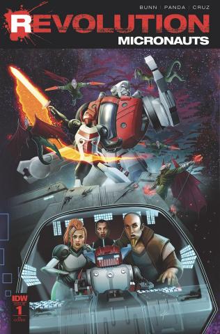 Micronauts: Revolution #1 (10 Copy Cover)
