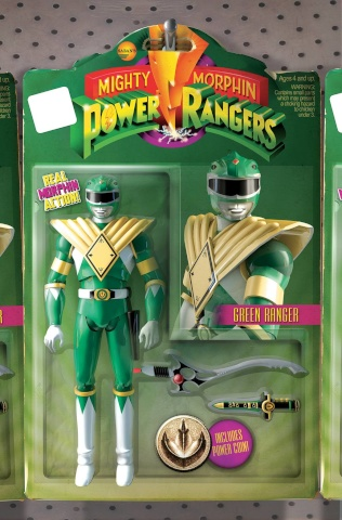 Mighty Morphin' Power Rangers #1 (Unlock Action Figure Cover)