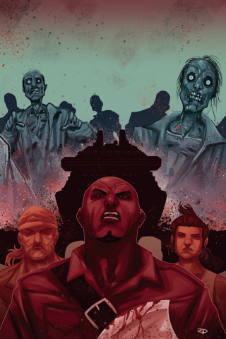 Z Nation #2 (10 Copy Medri Virgin Cover)