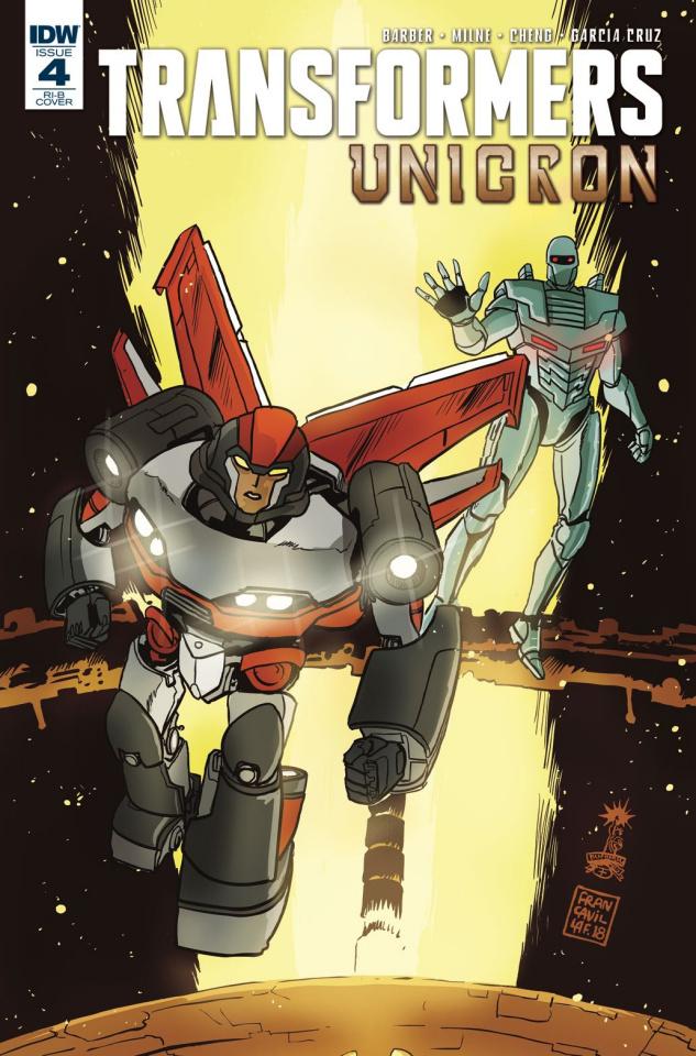 The Transformers: Unicron #4 (25 Copy Francavilla Cover)