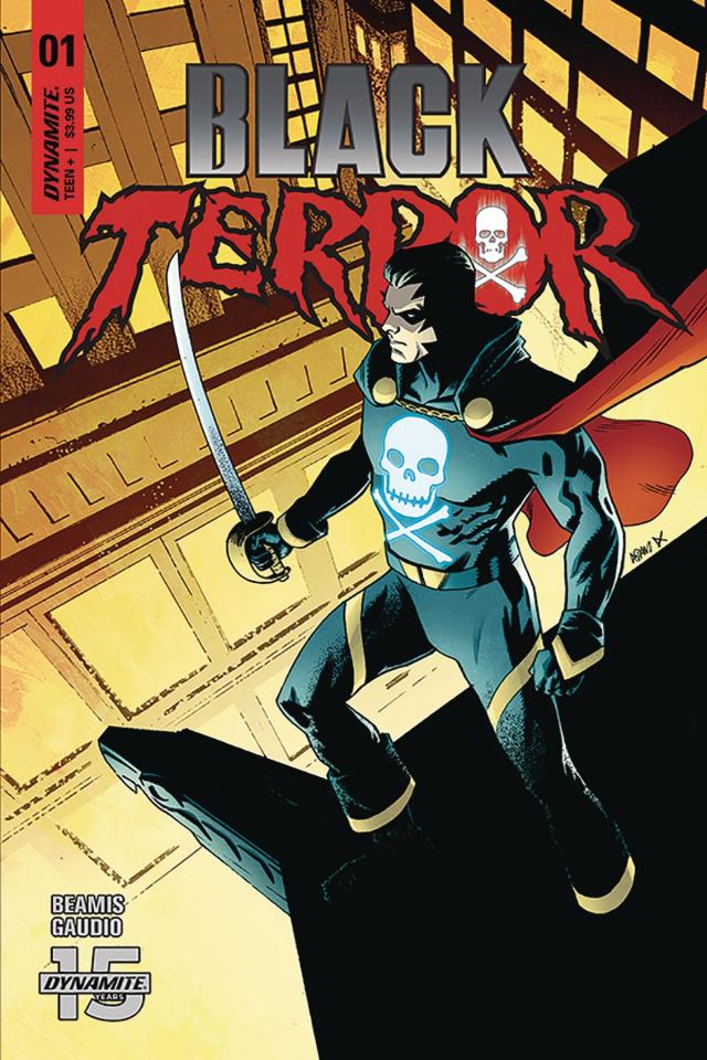 Black Terror #1 (Gorham Cover)