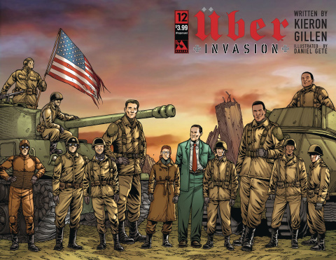 Über: Invasion #12 (Wrap Cover)