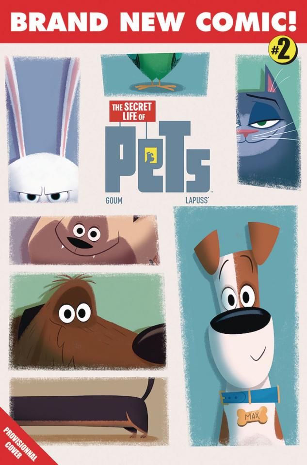 The Secret Life of Pets #2 (Goum Cover)