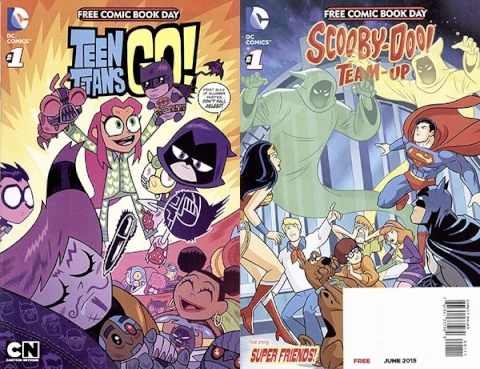 Teen Titans Go! / Scooby Doo Team-Up