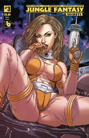 Jungle Fantasy: Secrets #3 (Space Fauna Cover)