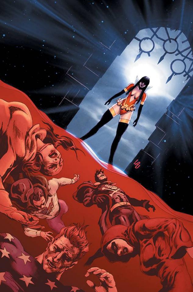 Vampirella: The Dark Powers #5 (Premium Lau Virgin Cover)