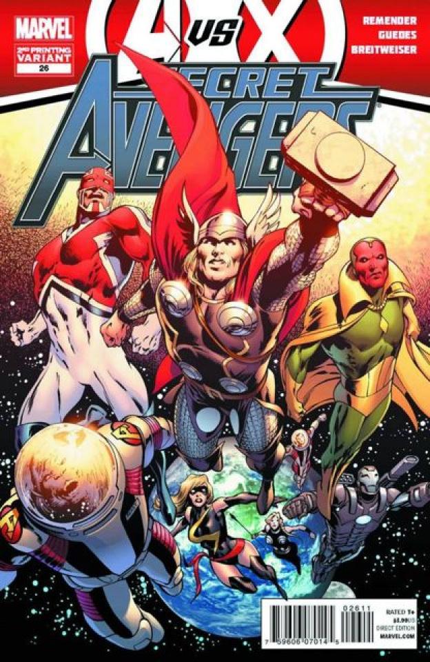 Secret Avengers #26 (2nd Printing)