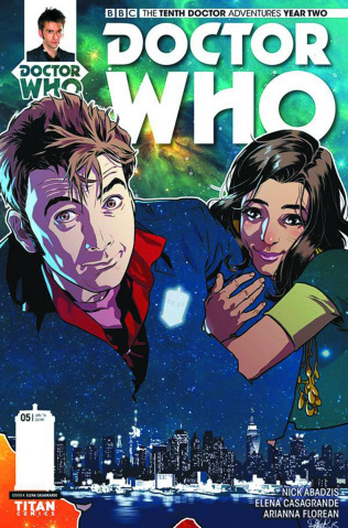 Doctor Who: New Adventures with the Tenth Doctor, Year Two #5 (Casagrande Cover)