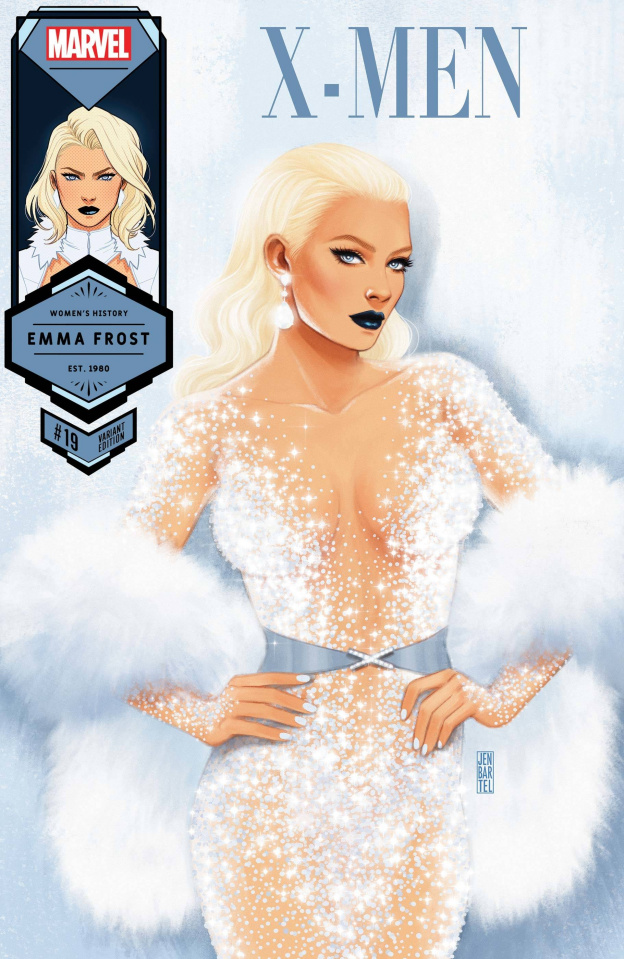 X-Men #19 (Bartel Emma Frost Womens History Month Cover)