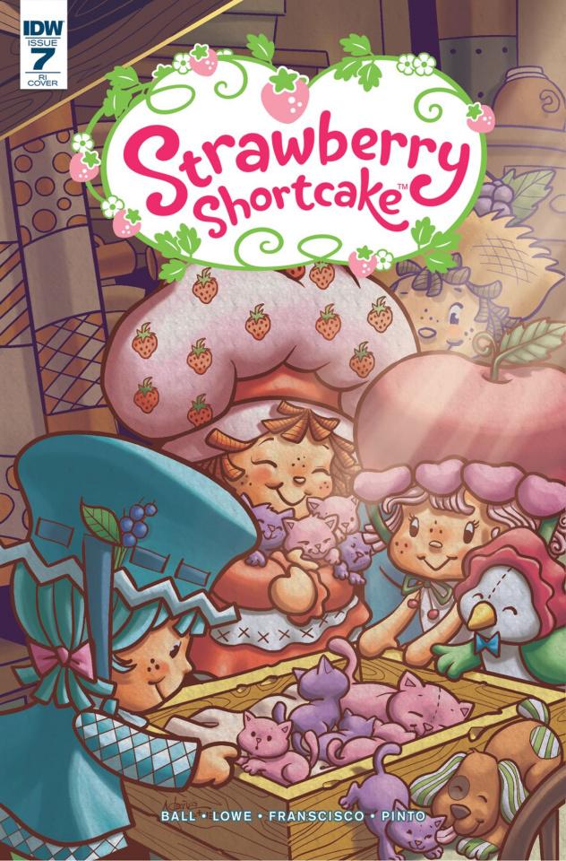 Strawberry Shortcake #7 (10 Copy Cover)