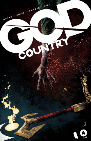 God Country #4 (Shaw & Wordie Cover)