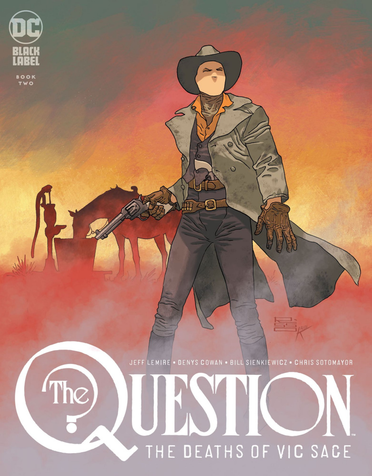 The Question: The Deaths of Vic Sage #2 (Variant Cover)