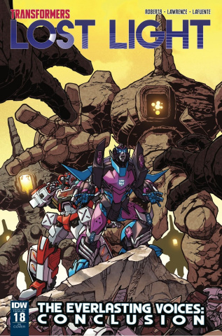 The Transformers: Lost Light #18 (10 Copy Cover)