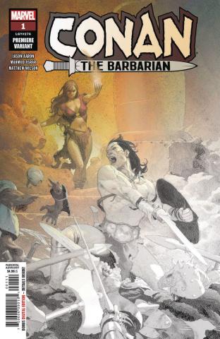Conan the Barbarian #1 (Ribic Cover)