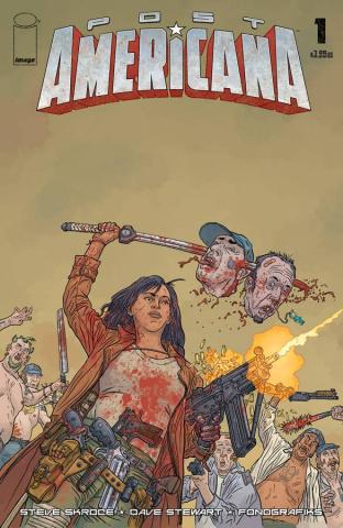 Post Americana #1 (Darrow Cover)