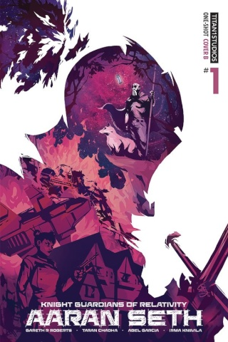 Knight Guardians of Relativity: Aaran Seth (Cover B)