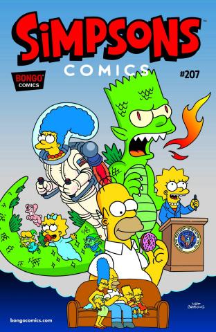Simpsons Comics #207