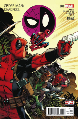 Spider-Man / Deadpool #3 (McGuinness 4th Printing)