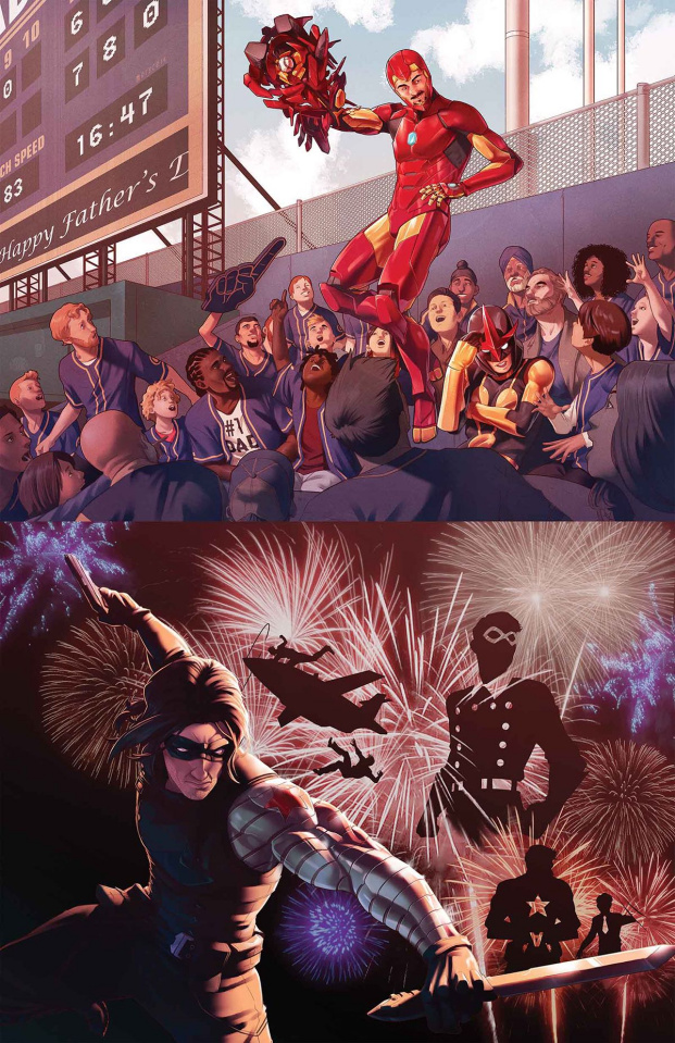 A Year of Marvel's Unstoppable #1