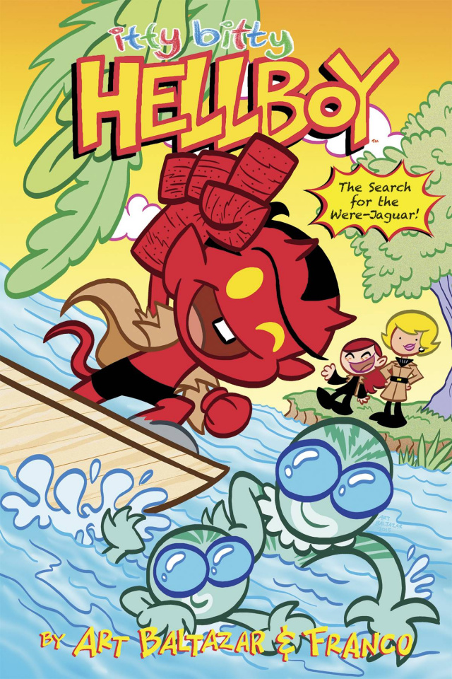 Itty Bitty Hellboy: The Search for the Were-Jaguar #1