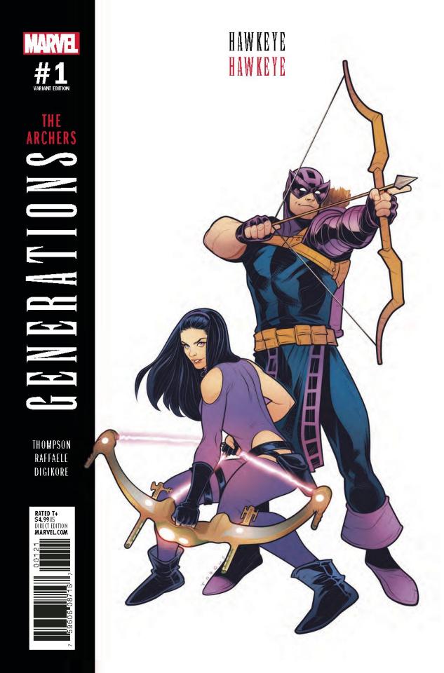 Generations: Hawkeye & Hawkeye #1 (Torque Cover)