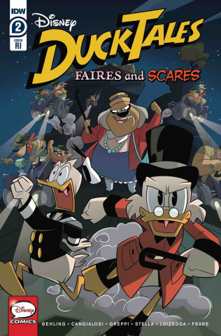 DuckTales: Faires and Scares #2 (10 Copy Ducktales Cover)
