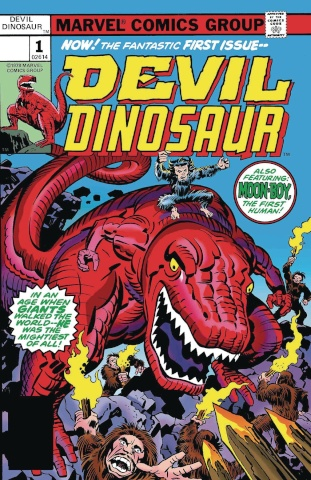 Devil Dinosaur #1 (True Believers Kirby Cover)