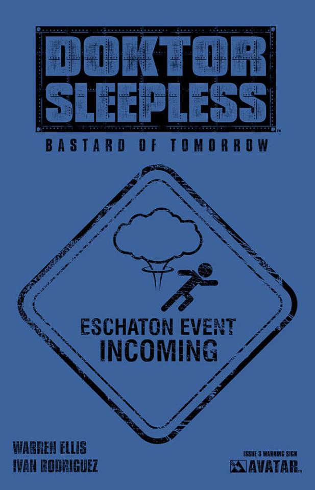 Doktor Sleepless #3 (Warning Sign Cover)