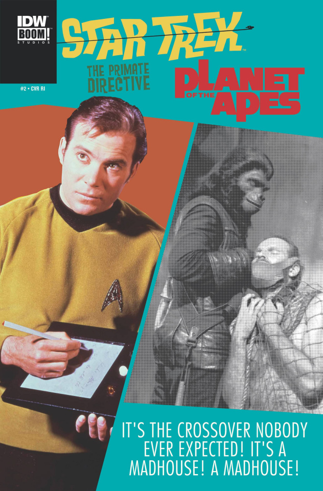 Star Trek / Planet of the Apes #2 (10 Copy Cover)