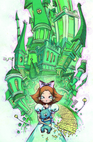 The Emerald City of Oz #1