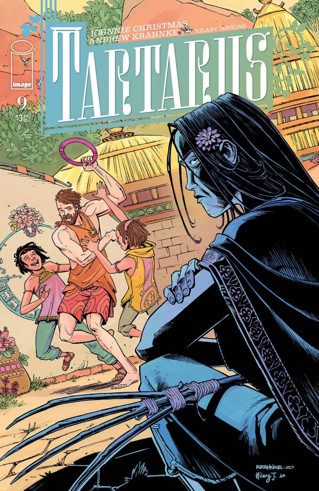 Tartarus #9 (Krahnke Cover)