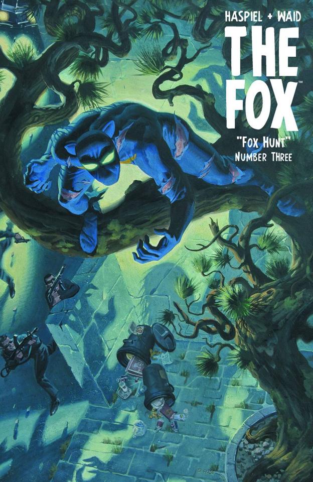 The Fox #3 (Steve Rude Fox Hunted Cover)