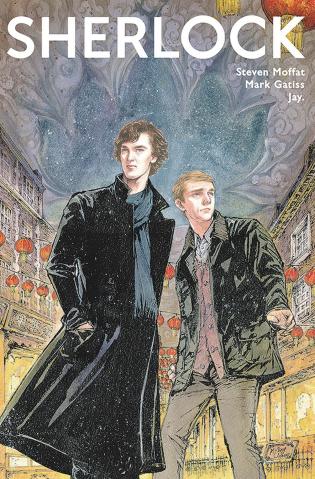 Sherlock: The Blind Banker #1 (Jiang Cover)