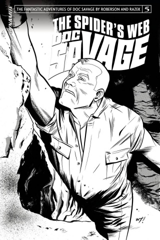 Doc Savage: The Spider's Web #5 (10 Copy B&W Cover)