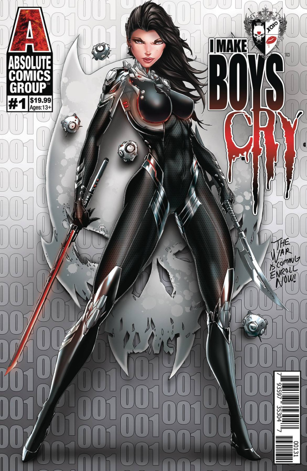 I Make Boys Cry #1 (Tyndall Wraparound Lenticular Cover)