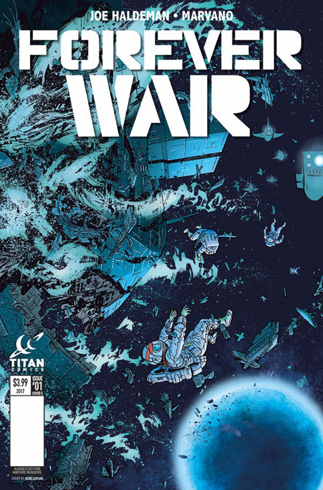 The Forever War #1 (Gorham Cover)
