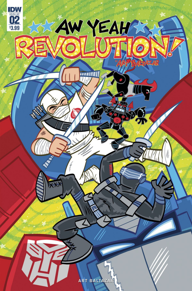 Revolution: Aw Yeah! #2