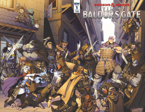Dungeons & Dragons: Evil At Baldur's Gate #1 (Dunbar Cover)