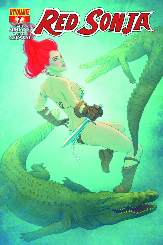 Red Sonja #7 (Frison Cover)