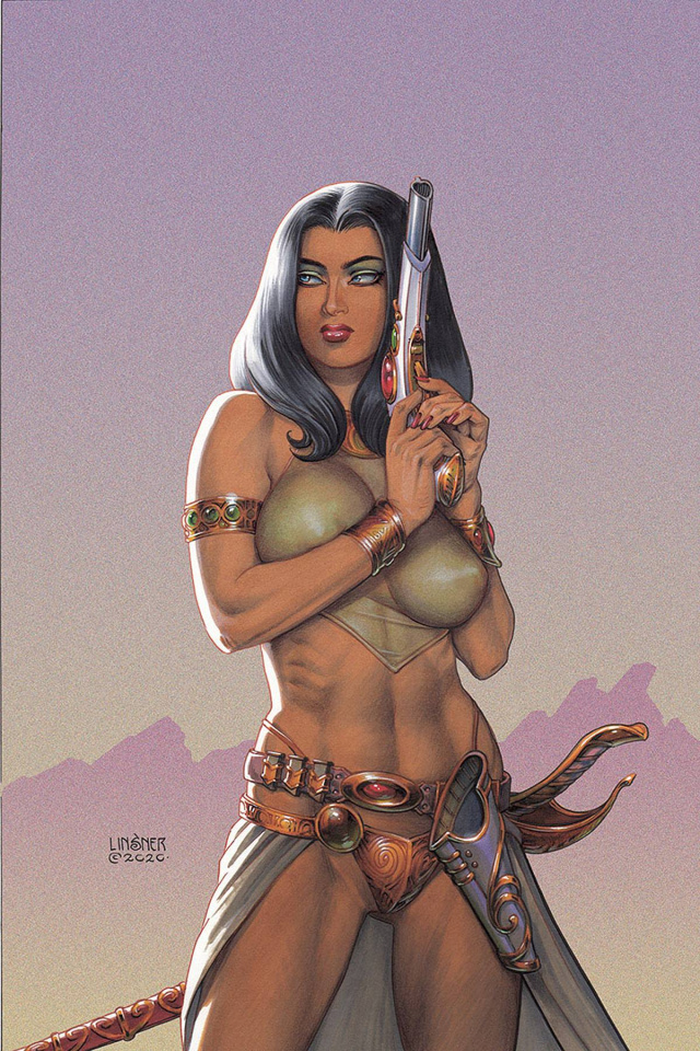 Dejah Thoris #10 (Linsner Virgin Cover)